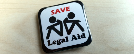 save legal aid badge